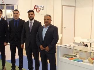 Abrasivos AG en AUTOMECHANIKA FRANKFURT 2014